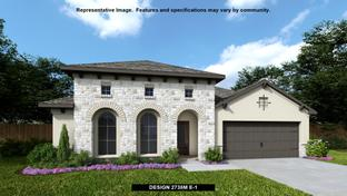 2738M - The Village of Mill Creek 60': Seguin, Texas - Perry Homes