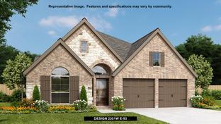 2301W - Balmoral 50': Humble, Texas - Perry Homes