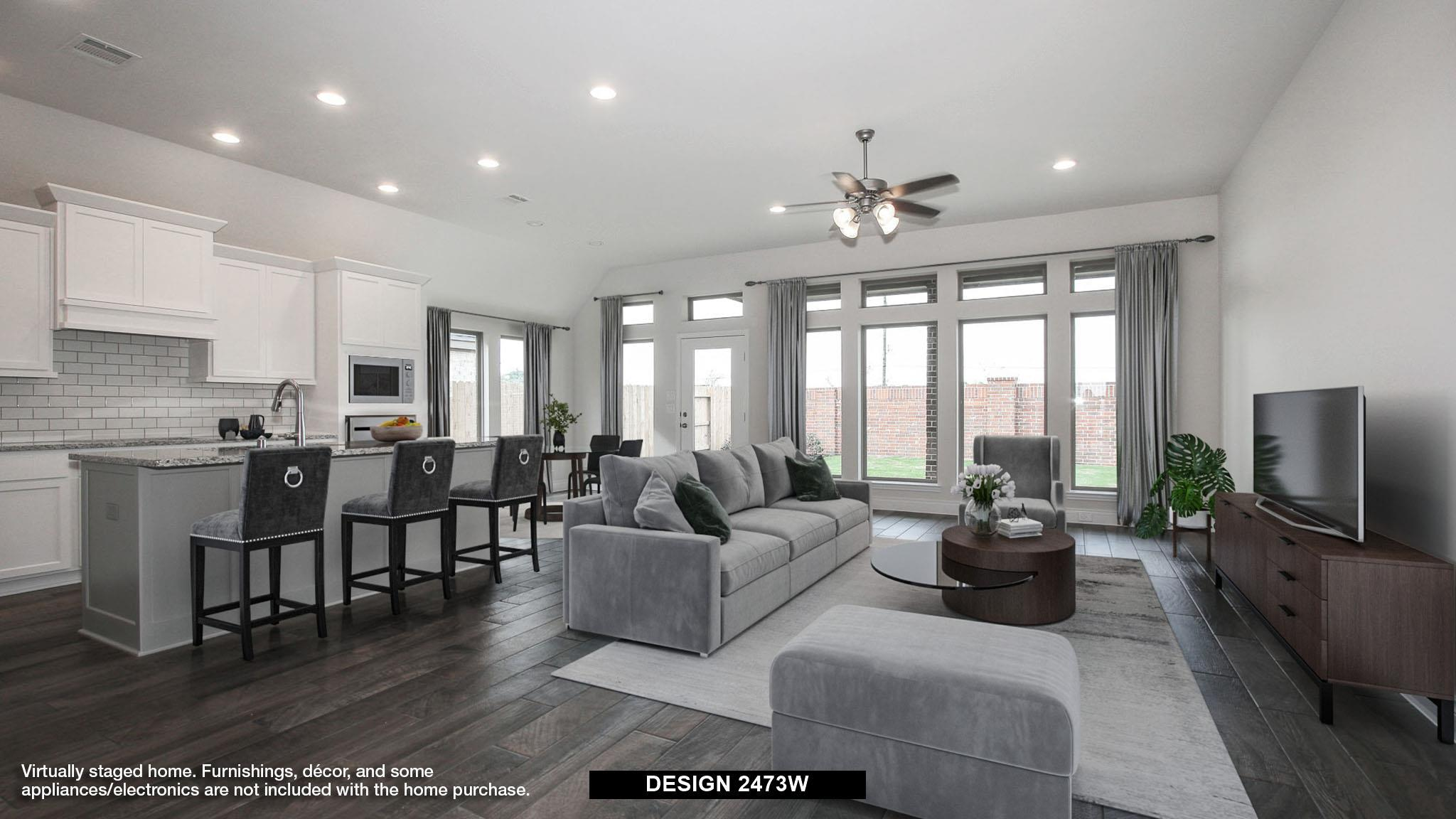 Living Area featured in the 2473W By Perry Homes in Houston, TX