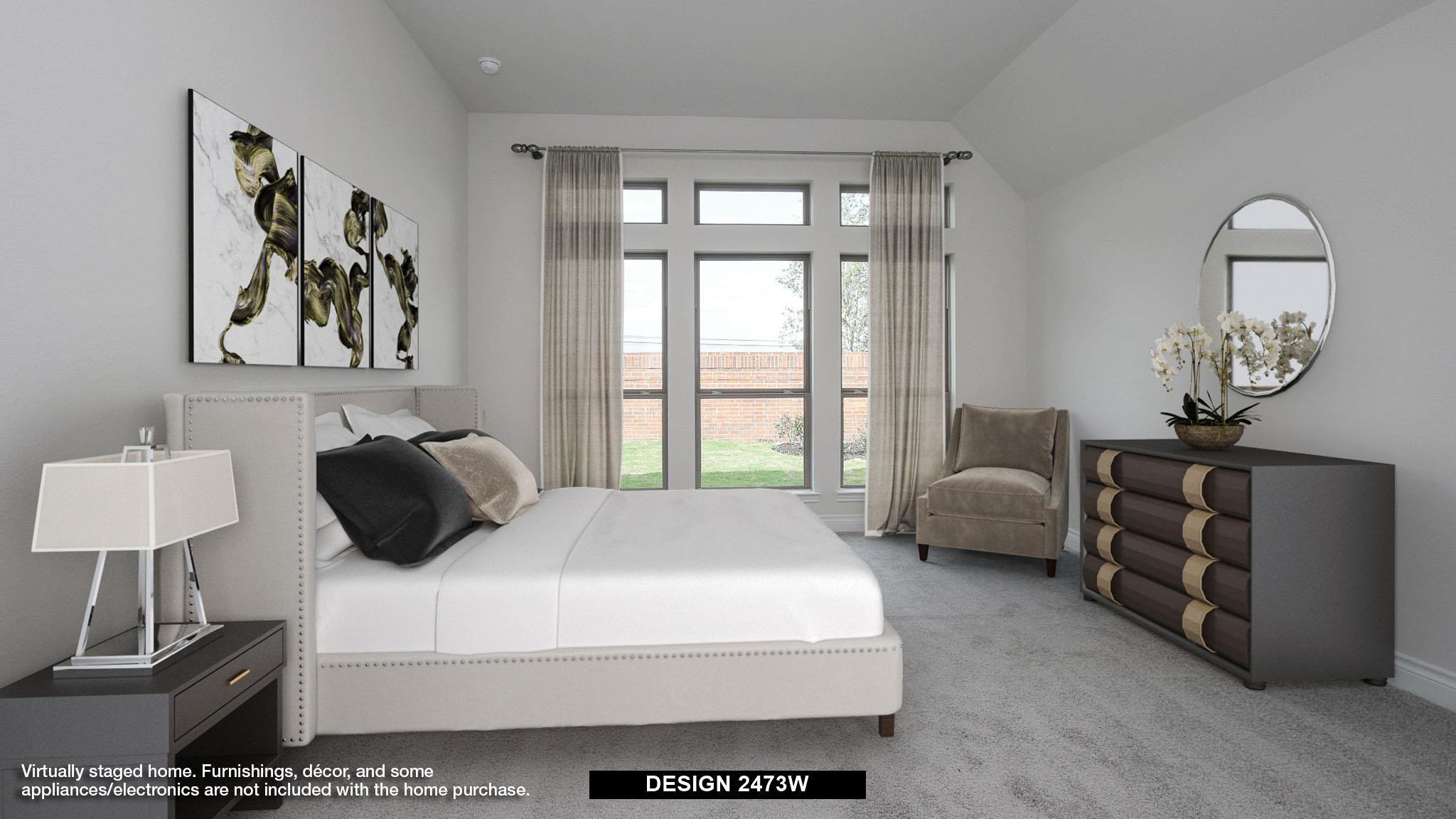 Bedroom featured in the 2473W By Perry Homes in Houston, TX