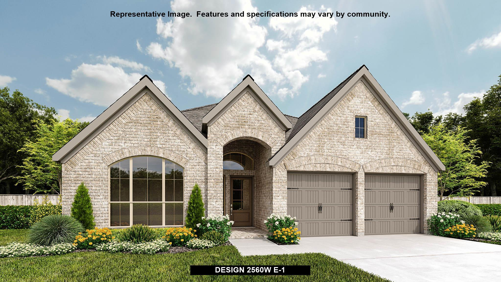 Exterior featured in the 2560W By Perry Homes in Houston, TX