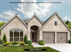 2560W - Grand Central Park 50': Conroe, Texas - Perry Homes