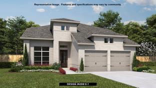 2628W - Fronterra at Westpointe 50': San Antonio, Texas - Perry Homes