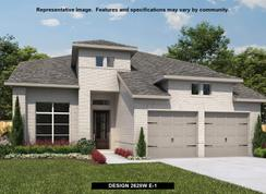 2628W - Santa Rita Ranch 50': Liberty Hill, Texas - Perry Homes