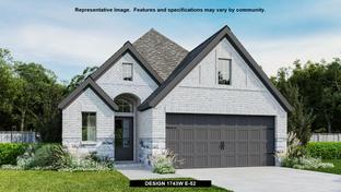 1743W - Prairie Oaks 45': Oak Point, Texas - Perry Homes