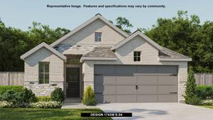 1743W - Devonshire - Reserve 40': Forney, Texas - Perry Homes