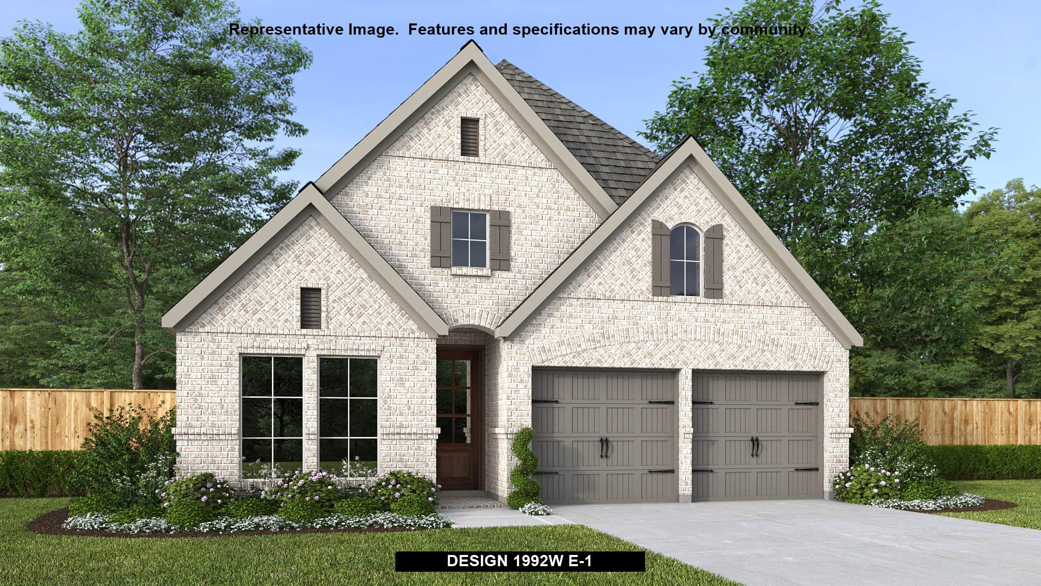Exterior featured in the 1992W By Perry Homes in Houston, TX