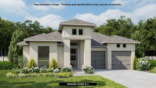 2228H - Veramendi 50': New Braunfels, Texas - Perry Homes