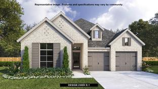 2300H - The Grove at Vintage Oaks 55': New Braunfels, Texas - Perry Homes