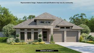 2474W - NorthGrove 50': Magnolia, Texas - Perry Homes