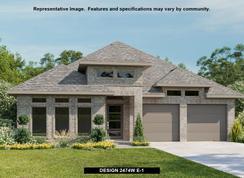 2474W - Deerbrooke 50': Leander, Texas - Perry Homes