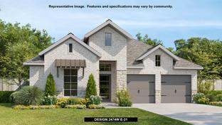 2474W - Kallison Ranch 50': San Antonio, Texas - Perry Homes