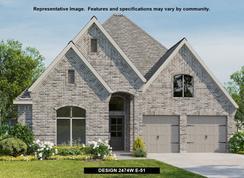 2474W - Cambridge Crossing: Celina, Texas - Perry Homes