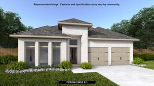 2545S - Kallison Ranch 50': San Antonio, Texas - Perry Homes