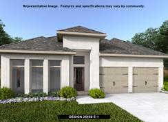 2545S - The Village of Mill Creek 50': Seguin, Texas - Perry Homes
