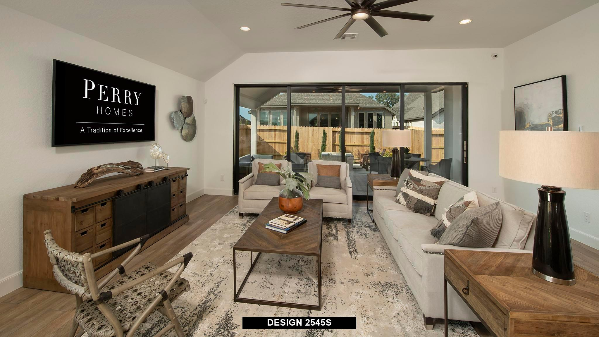 Living Area featured in the 2545S By Perry Homes in San Antonio, TX