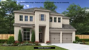 2603W - The Grove at Vintage Oaks 55': New Braunfels, Texas - Perry Homes