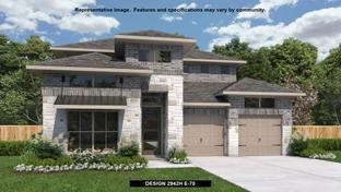 2942H - Kinder Ranch 50': San Antonio, Texas - Perry Homes