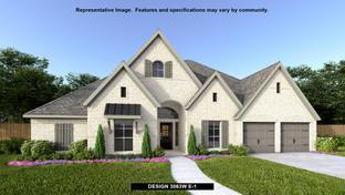 3063W - Fulbrook on Fulshear Creek 80': Fulshear, Texas - Perry Homes