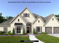 3063W - Canyon Falls 80'/100': Northlake, Texas - Perry Homes