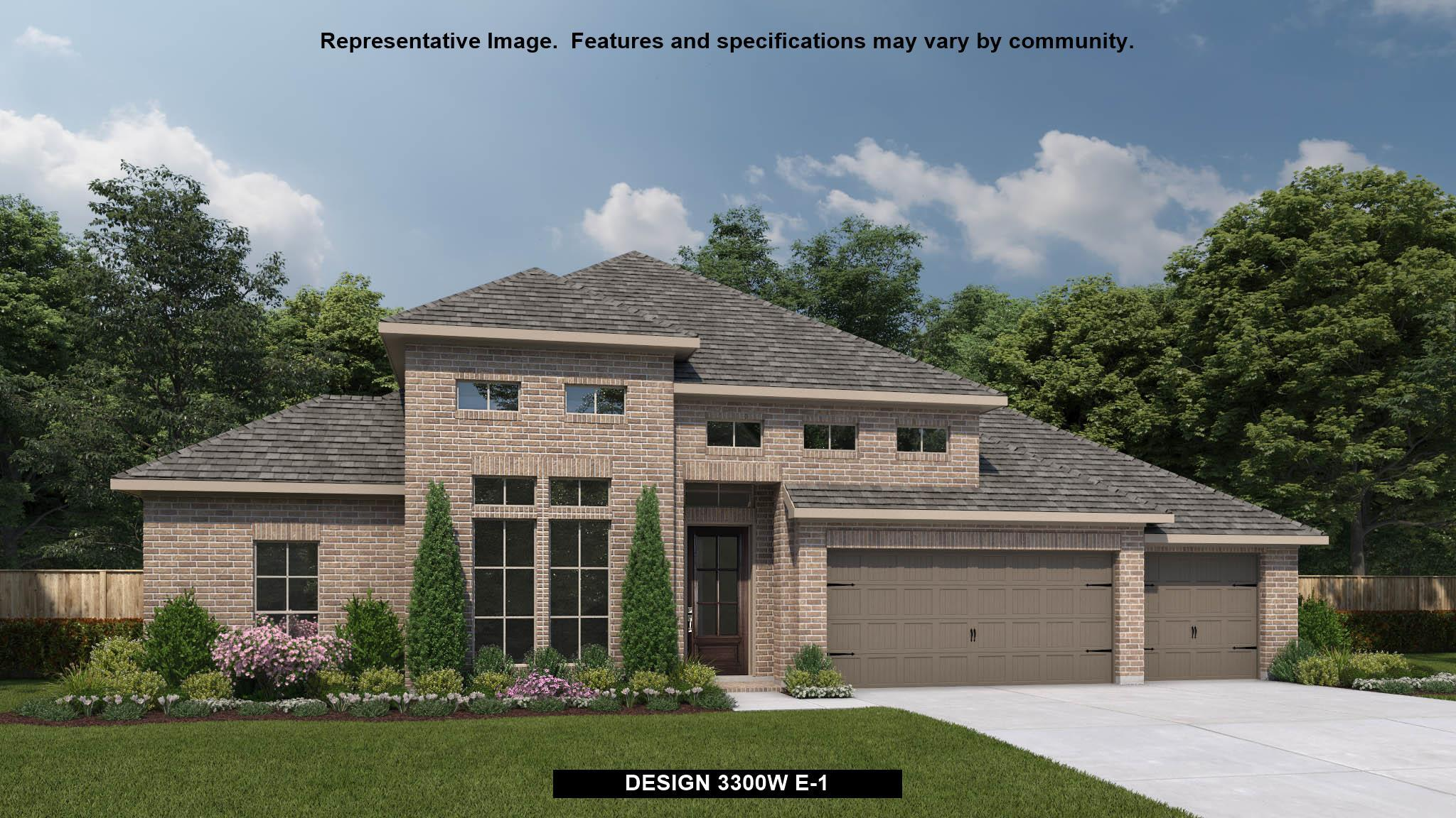 Exterior featured in the 3300W By Perry Homes in Austin, TX