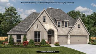 3300W - Del Bello Lakes 70': Manvel, Texas - Perry Homes