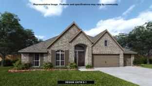 3307W - Cane Island 80': Katy, Texas - Perry Homes