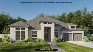 3334W - Johnson Ranch 85': Bulverde, Texas - Perry Homes