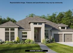 3334W - Santa Rita Ranch 90': Liberty Hill, Texas - Perry Homes