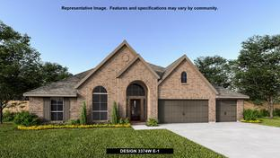 3374W - River Valley 70': Devine, Texas - Perry Homes