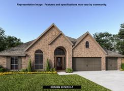 3374W - Del Bello Lakes 70': Manvel, Texas - Perry Homes