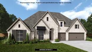 3410W - Canyon Falls 80'/100': Argyle, Texas - Perry Homes