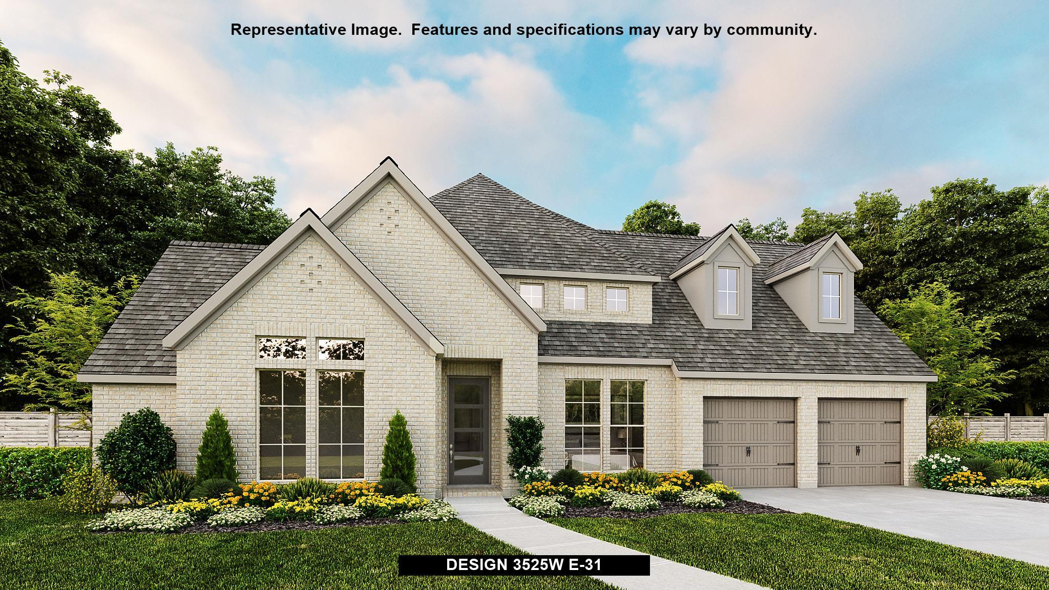 Exterior featured in the 3525W By Perry Homes in Austin, TX