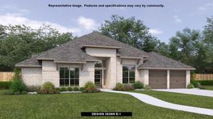 3526W - Fulbrook on Fulshear Creek 80': Fulshear, Texas - Perry Homes
