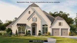 3578W - Del Bello Lakes 70': Manvel, Texas - Perry Homes