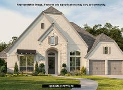 3578W - The Woodlands Hills 75': Willis, Texas - Perry Homes
