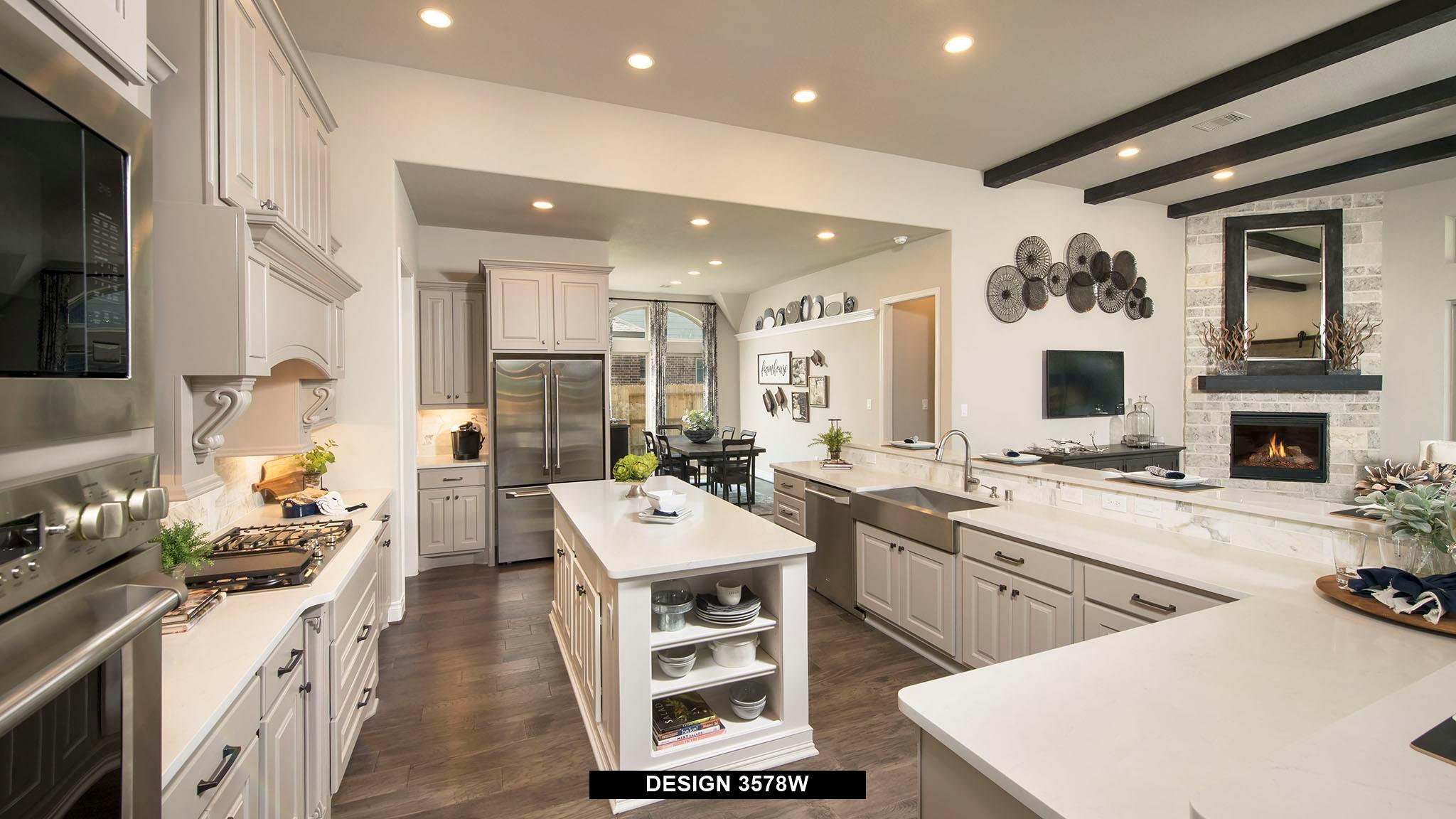 Kitchen featured in the 3578W By Perry Homes in Houston, TX