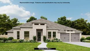 3714W - Cane Island 80': Katy, Texas - Perry Homes