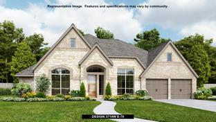 3714W - Meridiana 80' - Gated: Manvel, Texas - Perry Homes