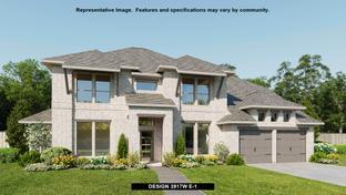 3917W - Del Bello Lakes 70': Manvel, Texas - Perry Homes