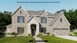 3917W - Meridiana 70': Manvel, Texas - Perry Homes