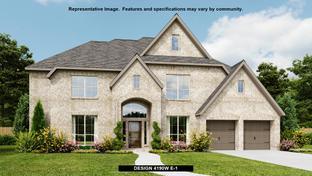 4190W - Rancho Sienna 70': Georgetown, Texas - Perry Homes