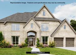 4190W - Fulbrook on Fulshear Creek 80': Fulshear, Texas - Perry Homes