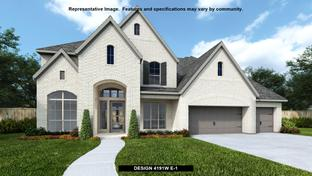 4191W - Canyon Falls 80'/100': Northlake, Texas - Perry Homes