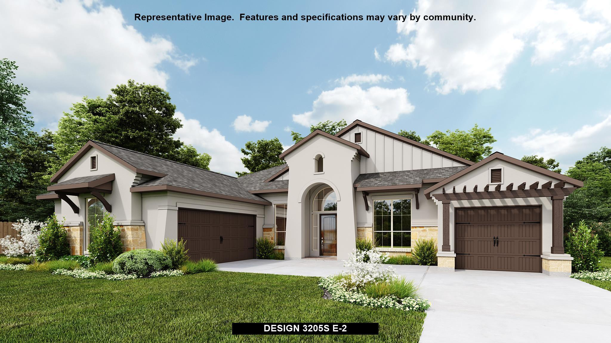 Exterior featured in the 3205S By Perry Homes in Austin, TX