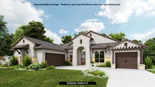 3205S - The Colony 80': Bastrop, Texas - Perry Homes