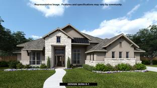 3435A - Johnson Ranch 85': Bulverde, Texas - Perry Homes