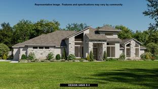 3494S - Johnson Ranch 85': Bulverde, Texas - Perry Homes