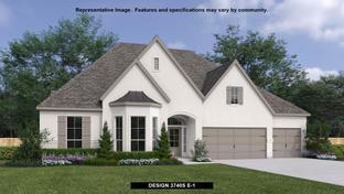 3740S - Santa Rita Ranch 90': Liberty Hill, Texas - Perry Homes