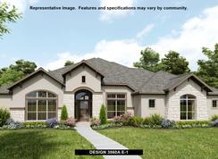 3860A - Johnson Ranch 85': Bulverde, Texas - Perry Homes